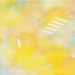 crosswalk 22×27.3cm     アクリル、油彩、キャンバス
