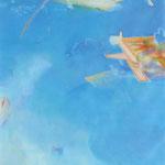 水辺のかたち 13-2 162×130cm アクリル・油彩・キャンバス 2013