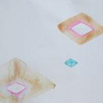 みずたまり-2 水彩、アクリル、紙 2012