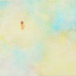いろのはら-1  18×18cm 油彩、キャンバス