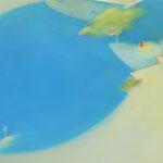 散策路 F80号   112×145.5cm アクリル・油彩・キャンバス