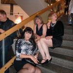 Bei der CSD-Gala während der Pause