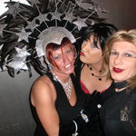 mit Evelyn und Petra