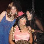 Mit Naomi (links) und Jessica (rechts)