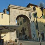 Westlicher Eingangstor von Chianciano Therme