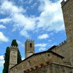 Badia a Passignano, wo Antinori seine Weine lagert