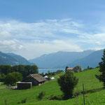 Blick Richtung Interlaken