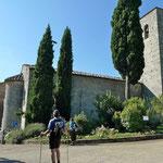 Kirche von Castello di Spaltend, früher Kloster, heute 5-Stern Ferienanlage