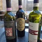 Weine aus der Umgebung von Montalcino