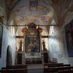 In der Chiesa del Buon Gesù im Dorf