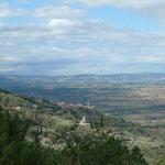 Blick auf Cortona