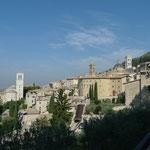 Blick über Assisi