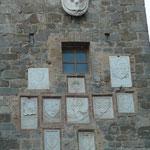 Wappen der ehemaligen Bürgermeister und der Medici