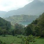 Erster Blick auf den Tenno-See