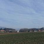 Blick über Gächliwil zum Weissenstein