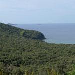 Blick auf die Landzunge Punta Ala