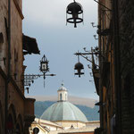 Blick auf die Kuppel der Kathedrale San Rufino