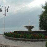 An der Seepromenade in Limone