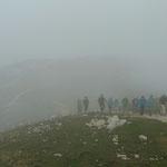 Im Nebel auf dem Monte Baldo