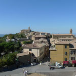 Blick über Montalcino