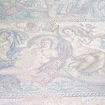 Mosaik Ein Teil der 50 Töchter von Nereus
