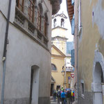 Altstadtgasse mit schönem Palazzo