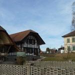 Häuser und Schulhaus von Gossliwil