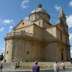 Kirche Madonna di San Biagio unterhalb Montepulciano