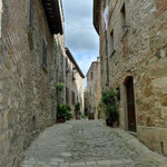 Gasse in Montefioralle