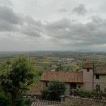 Blick Richtung Trasimeno-See
