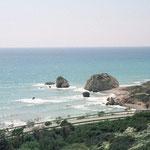 Der Fels der Aphrodite, Geburtsort der Aphrodite