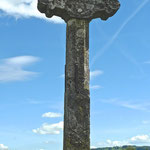 Altes Wegkreuz auf den Col de la Croix