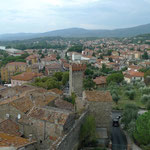 Blick über die Altstadt zur Neustadt