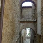 Gasse in Montepulciano
