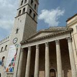 Ehemals römischer Tempel der Göttin Minerva, heute Kirche Santa Maria