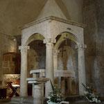 Ziborium aus dem 8. Jahrhundert