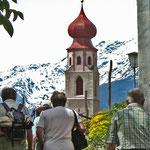 Kirchturm von Tschars