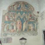 Fresken in der Kirche