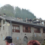 Eindrückliche Architektur in Ballino