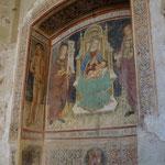 Fresken in der St. Maria