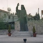 Makarios III in Pano Paraskevi