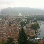 Blick von der Bastion auf Riva