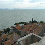 Blick auf den Trasimeno-See