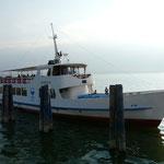 Mit dem Schiff zurück nach Passignano