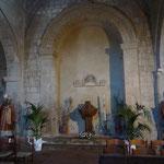 In der Kirche Santa Maria