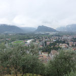 Blick auf Arco und den Monte Brione