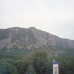 Der Berg bei Thonadiano, der bestiegen werden soll
