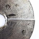 SCUDO n° 6  2019 (particolare) metallo inciso