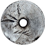 SCUDO n°5  2019 - vernie su metallo inciso diametro 75cm