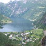 Geirangerfjord mit Adlerstraße